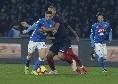 Il Roma - Mertens tiene in ansia Ancelotti per Napoli-Lazio