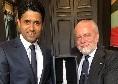 CorSport - ADL incontra il presidente del PSG alla sfilata di Armani, c'è l'accordo per il trasferimento di Allan