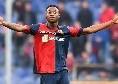"""Genoa, Kouamé: """"Mi fa piacere dell'interesse del Napoli, ma per adesso sono del Genoa. Posso fare ancora di più"""" [VIDEO]"""