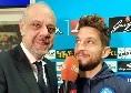"""De Maggio: """"Mertens praticamente recuperato per la Lazio. Bel siparietto tra me e Insigne a Castel Volturno..."""""""