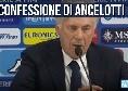 """Calciomercato Napoli, annuncio bomba di Ancelotti: """"Mi piace da morire!"""""""