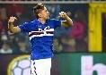 Dopo i primi 45 minuti 1-1 tra Fiorentina e Samp, Bologna in vantaggio a Ferrara