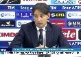 """Lazio, Inzaghi in conferenza stampa: """"Vittoria del Napoli meritata, ma espulsione inventata: Callejon è stato il più furbo di tutti"""" [VIDEO]"""