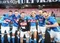 """SSC Napoli su Twitter: """"Il Napoli ha sette punti di vantaggio sull'Inter, quindici sul quinto posto"""""""