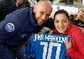 Ospite d'eccezione al San Paolo per Napoli-Lazio: Jana Maradona in compagnia del Club Napoli Campobasso [FOTO]