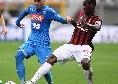 Milan, Zapata salta la doppia sfida col Napoli: lesione muscolare, il comunicato dei rossoneri