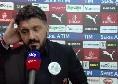 """Juve fuori dalla Champions, Gattuso sull'Ajax: """"Giocano così da anni, non è una sorpresa"""""""