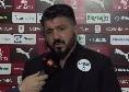 """Gattuso, il suo match analyst: """"Certe informazioni non mi arrivano, ma la stima di De Laurentiis fa piacere al mister..."""""""