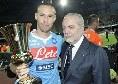 Evento riconoscimento carriera Hamsik, Ssc Napoli conferma: posticipato all'intervallo della sfida col Genk