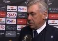 """Ancelotti a Sky: """"Ounas deve fare cose speciali! La squadra ha qualità, forse c'è eccesso di altruismo. Calo di gol in avanti perché gli attaccanti lavorano molto in fase difensiva"""""""