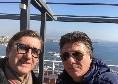 """Auriemma si fotografa con Mazzarri: """"Due volte all'anno avversari, gli altri 363 giorni amici sinceri"""""""