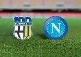 Dove vedere Parma-Napoli in tv e in streaming
