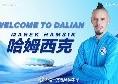 """Dalian, Hamsik: """"Farò del mio meglio per questa squadra, proprio come fatto a Napoli"""""""