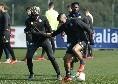 """Rossi: """"Diawara e Verdi protagonisti domani sera contro lo Zurigo? Se uno gioca nel Napoli, deve avere lo spessore giusto per indossare l'azzurro"""""""