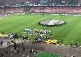 Dati spettatori e incassi di Napoli-Zurigo: è ancora un flop, meno di 18mila presenze al San Paolo