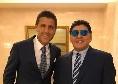 """Maradona, l'agente: """"Champions? Un azzurro ha impressionato Diego, è proprio pazzo di lui"""""""