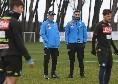 """SSC Napoli, il report da Castel Volturno: """"Rosa divisa in due gruppi, chiusura con tiri in porta"""""""