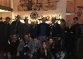 Cena 'in famiglia' per Ancelotti, la figlia Katia, Edo De Laurentiis e lo staff azzurro [FOTO]