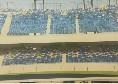 Repubblica - Sediolini San Paolo: ipotesi azzurra con sfumature multicolore, ecco una bozza [FOTO]