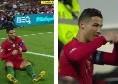 Problema muscolare per Ronaldo, costretto ad uscire in Portogallo-Serbia! [FOTO & VIDEO]