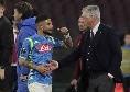 """""""Visto che hai combinato?"""", spunta la frase di Insigne ad Ancelotti dopo il cambio con l'Arsenal"""