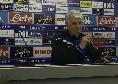 """Gasperini in conferenza: """"Abbiamo le qualità per far bene, una grande prestazione per fare risultato al San Paolo"""""""