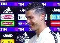 """Cristiano Ronaldo annuncia: """"Resto alla Juve al mille per cento! Champions League? Ci riproviamo l'anno prossimo"""" [VIDEO]"""