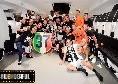 Festa scudetto Juventus, scoppia la polemica: i bianconeri dimenticano ancora Calciopoli, CR7 assente nello spogliatoio [FOTO]