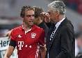 Quando Lahm e Xabi Alonso si lamentavano degli allenamenti di Ancelotti...