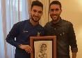 Super accoglienza per l'Inter a Napoli, Politano riceve un meraviglioso regalo [ESCLUSIVA]