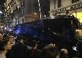 Inter arrivata al San Paolo: accoglienza con fischi dai tifosi azzurri [VIDEO CN24]