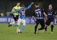 Napoli-Inter 4-1 (16' Zielinski, 61' Mertens, 71' e 78' Fabian, 81' Icardi): termina la partita! Gioco spettacolare, gli azzurri salutano al meglio il San Paolo