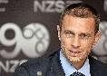 "UEFA, Ceferin: ""Agnelli decide per la Superlega? Tutte stupidaggini"""