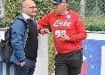 """SSC Napoli su Twitter: """"Una graditissima visita, Enzo Massa della Canottieri"""""""