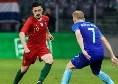 Euro2020 - Vincono Serbia e Portogallo, pareggia l'Albania: 90 minuti in campo per Makismovic e Mario Rui, 45' per Hysaj