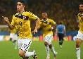 James Rodriguez-Napoli, Tuttosport frena: gli azzurri insistono sul prestito oneroso con diritto di riscatto, occhio alla concorrenza