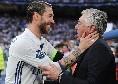 """Sergio Ramos si sposa, gli auguri di Ancelotti: """"Ti auguro il meglio, che in futuro tu sia ancora molto felice"""" [FOTO]"""