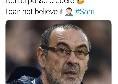 """Sarri-Juve, la reazione di Decibel Bellini: """"Non ci posso credere"""" [FOTO]"""