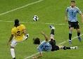Cavani da sogno, gol in rovesciata con l'Uruguay in Coppa America [VIDEO]