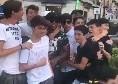 Zuniga travolto dall'affetto dei napoletani in città, spunta il like di James al post [FOTO & VIDEO]