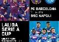 """La Liga Serie A Cup, Napoli-Barcellona: """"Biglietti in prevendita disponibili ora!"""""""