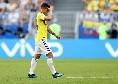 As - James Rodriguez torna a Madrid, distensione del legamento crociato! Out almeno tre settimane
