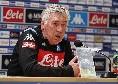 """Ancelotti: """"Lozano ha dimostrato di volere Napoli, ecco il suo ruolo. Non parlo di James e Llorente! Icardi? Ci pensa la società. Lozano pronto per la Juve, Milik salta Firenze. Voto 10 al mercato, ci proveremo per lo scudetto"""""""