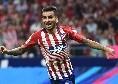 Dall'Argentina - Atletico Madrid, chiesti 50 mln al Milan per Correa: accordo trovato tra rossoneri e calciatore