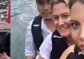 Incidente Wanda Nara nel lago di Como: ripescata, che spavento! Per fortuna sta bene