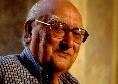 """E' morto Andrea Camilleri, il messaggio di cordoglio della SSC Napoli: """"Ci mancheranno la tua personalità, la tua cultura, i tuoi romanzi"""""""