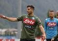 Napoli-FeralpiSalò, le formazioni ufficiali: debutto dal 1' per Manolas, confermato Gaetano