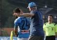 Ancelotti e quel buffetto ad Insigne: il tecnico di Reggiolo sprona il capitano azzurro [FOTOSEQUENZA CN24]