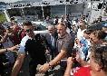 De Laurentiis tra i tifosi a Carciato, folla oceanica per Insigne: tutti gli scatti della mattinata [FOTOGALLERY CN24]