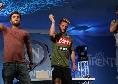 Dimaro, serata con i comici di Made in Sud: Mertens scatenato balla sul palco [VIDEO CN24]